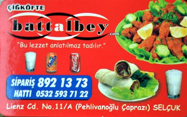 Battalbey Çiğ Köfte (Selçuk)