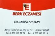 Berk Eczanesi